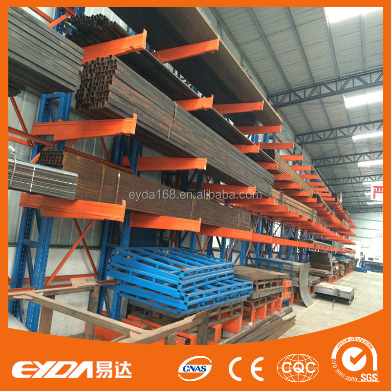 Premium quality warehouse cantilever storage pipe rack system