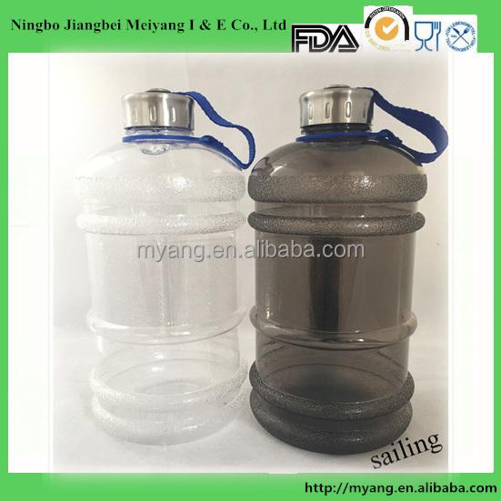bpa frei 2 2 liter wasser flasche mit griff 2 2 kunststoff. Black Bedroom Furniture Sets. Home Design Ideas