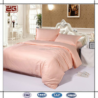 Luxury Elegant Egyption White Poly/Cotton Hotel Bedding Colellection /Hotel Bed Sheet