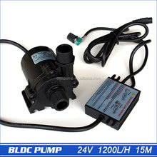 High Pressure Pumps, Water Pressure Booster Pump 1560LPH 15M, 5-24V Wide Voltage Operation Mini Electric Water Pump Portable