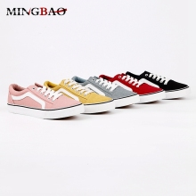 Design Casual Latest oem thin sole canvas shoes women