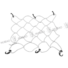 Truck accessories cheap elastic cargo net, Motorcycle luggage car cargo net plastic hooks