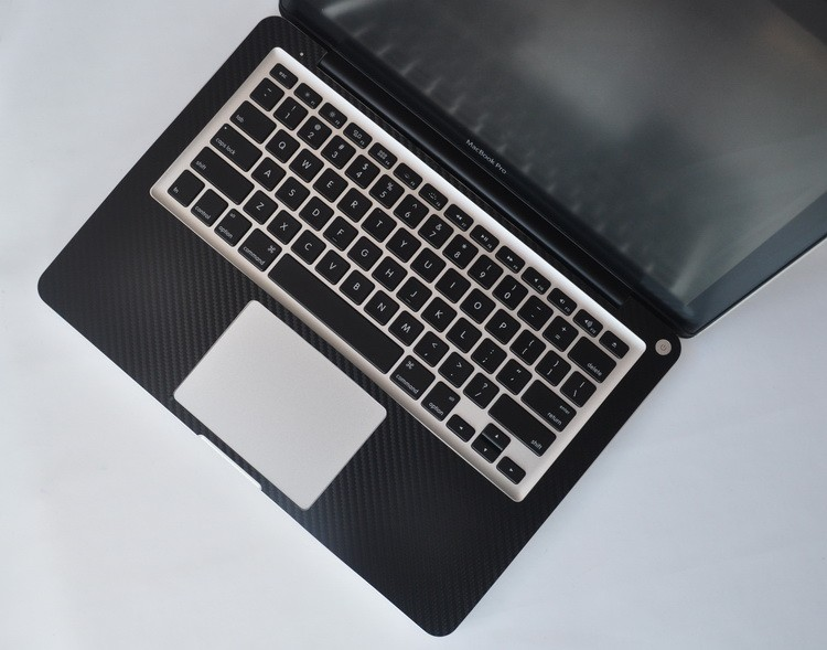 Wholesale Laptop Accessories Full Body Stickers for MacBook Air 11 Carbon Skin Fiber