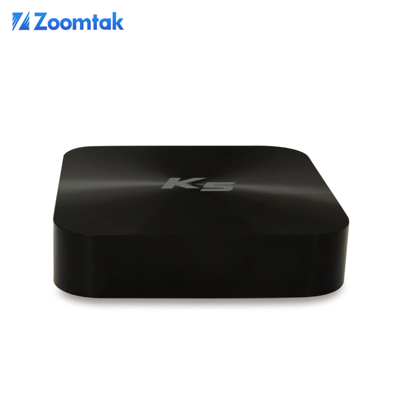 Streaming tv box zoomtak K5 aml S805 quad core android tv box dual wifi xbmc preinstalled media player tablet android mini pc