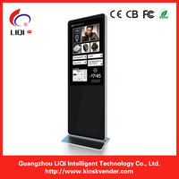 "55"" digital signage dual screen media player/ ticket kiosk"