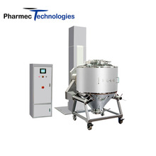 Automatic Lifting IBC bin mixer large capacity blenders v type powder mixer