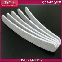 NO Electric Nail Salon Use Zebra Emery Board,nail magic buffer