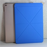 Luxury Leather Smart Case Stand Magnetic Cover for ipad 2 case
