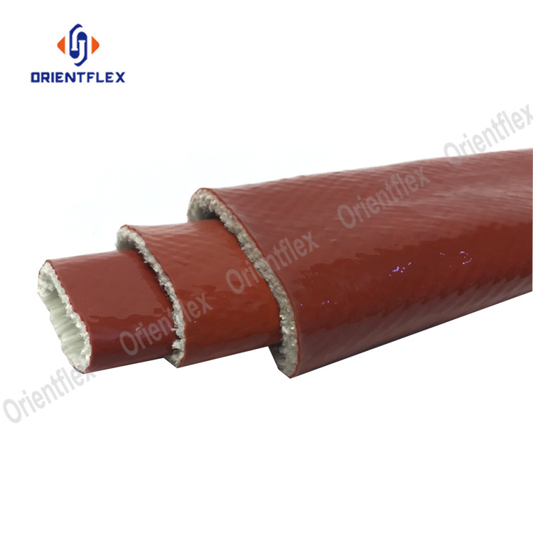 Fire cable oil line heat protection high temp high temperature sleeve