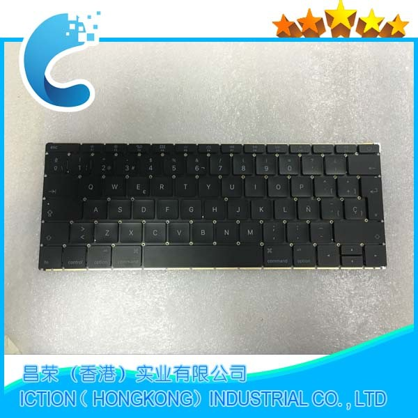 Genuine Original Keyboard Replaced For Macbook Pro Retina 12'' A1534 Kayboard US version 2015 year