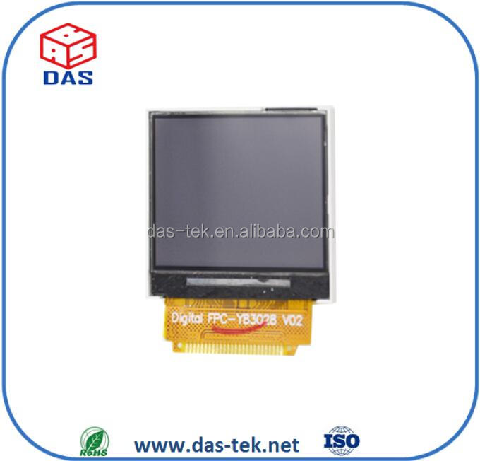 1.5 inch small transflective tft lcd display 176x132 with 8 bits interface type for smart outdoor device