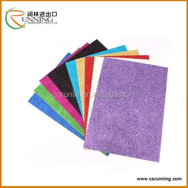 PP self adhesive glitter film paper wholesale