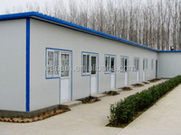 movable family prefab house-Prefabricated building house