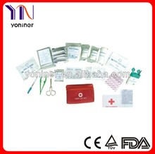 Surgical industrial first aid kit