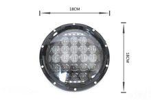 7inch 105W LED work light offroad accessories 4x4 for jeep Wrangler headlight