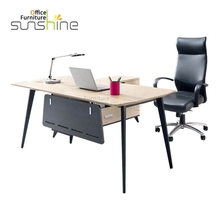 Factory wholesale price office furniture pictures of wooden office table design