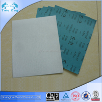 White electro coated Aluminum oxide abrasive paper A70C for grinding wood, furniture and metal