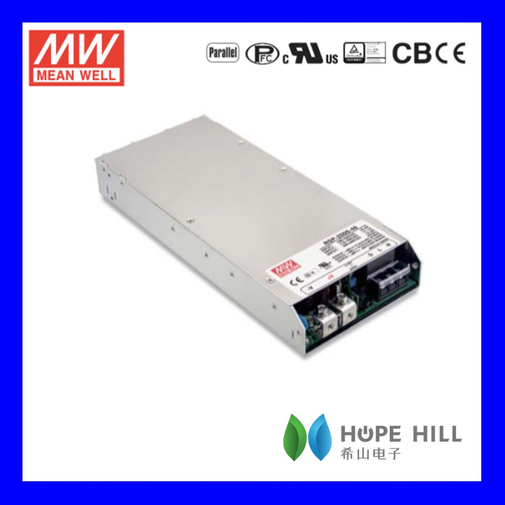 Original MEAN WELL RSP-2000-24 MODEL 1920W Power Supply with Single Output LED driver