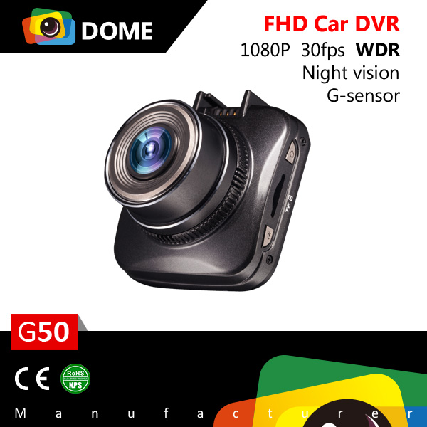 G50 car dvr user manual fhd 1080P car camera dvr video recorder