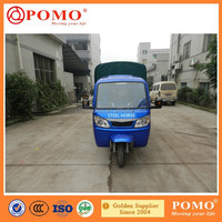 2015 China Popular Semi-closed Cabin Double Rear Wheel Strong Cargo Box 300CC Cargo Motorized 4 Wheel Tricycle