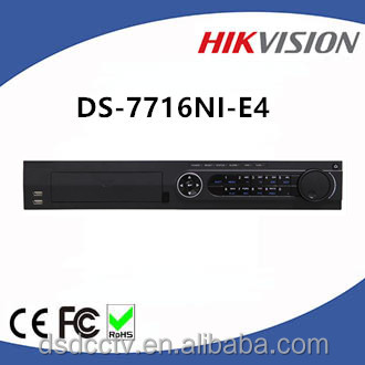 Hikvision DS-7716NI-E4 H.264 16ch Embedded Plug & Play NVR 4 SATA interfaces