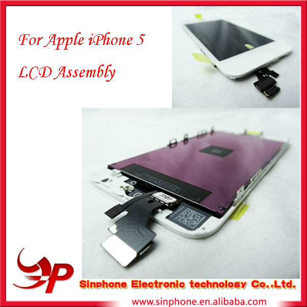 Hot sale For apple lcd for iphone display 5g digitizer