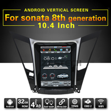 tft lcd monitor touch display screen android gps navigation for Hyundai Sonata 8 2011 with dvd player gps radio audio