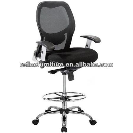 Di alta qualit maglia sedia da ufficio con poggiapiedi rf for Sedia ufficio con poggiapiedi