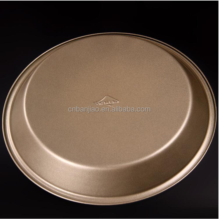 9inch Nonstick Round Tart Quiche Pan Cake Flan Pie Pan with Removable Base, Bakeware Decorating, Dark Grey