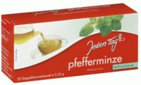 Jeden Tag Peppermint Tea dual-chamber tea bag 25s