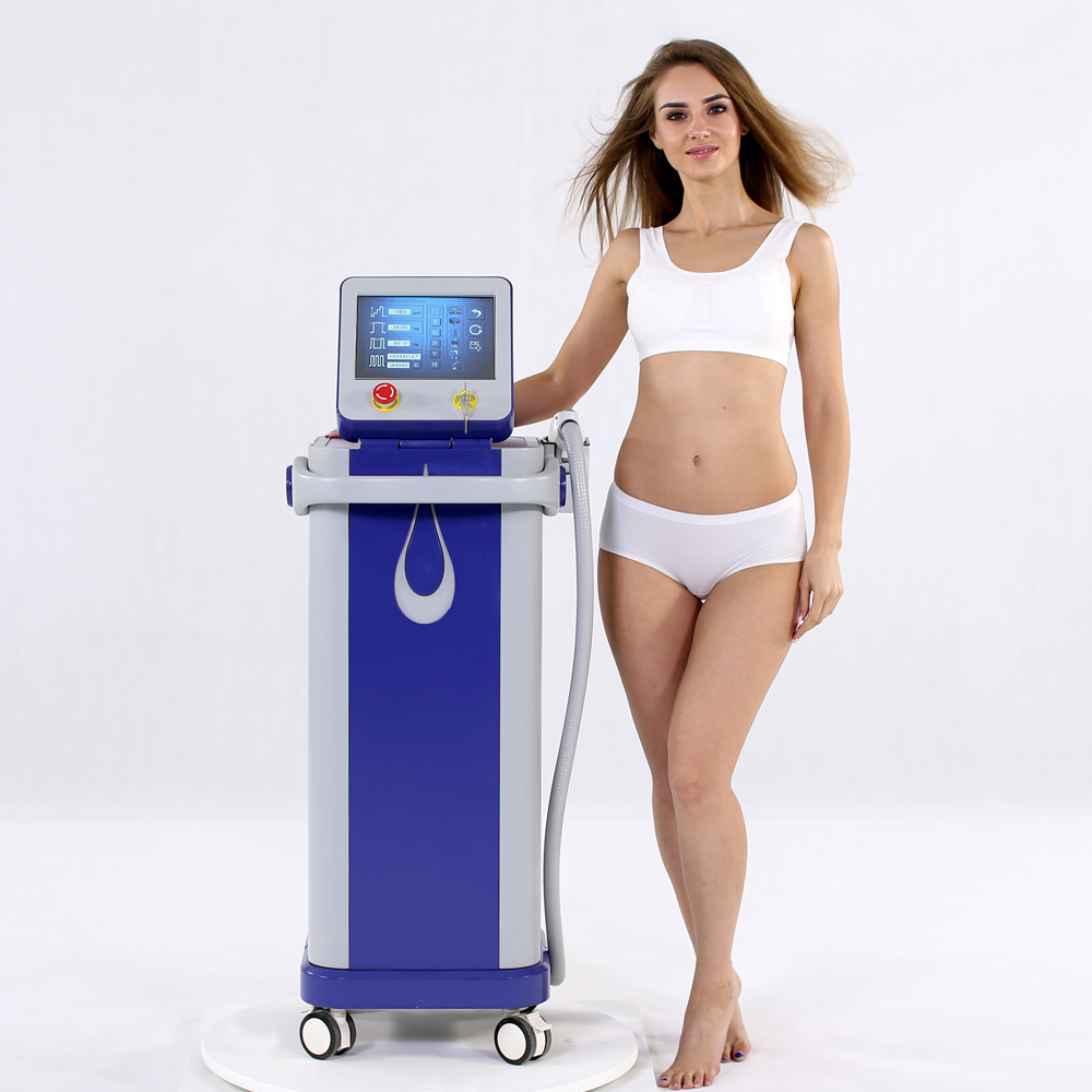 2017 diode laser 808nm permanent hair removal machine 500w power supply for laser