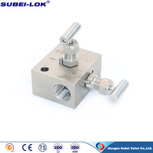 SS316 High Pressure Gas 2 Way Valve Manifold in China