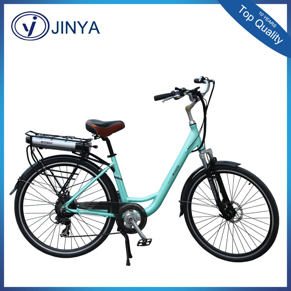 TOP E-cycle 700C city ebike charging electric bike with hidden battery