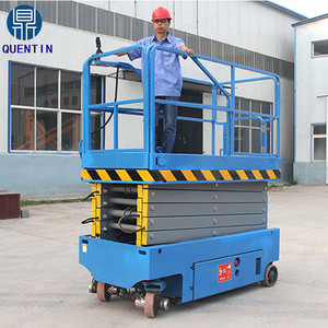 High quality self-propelled hydraulic table lift for painting