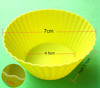 100% food grade heat resistant colorful silicone cupcake muffin mold