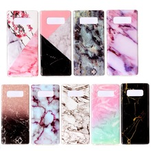 bulk buy from china custom printed marble pattern soft back cover tpu phone case for samsung galaxy note 8