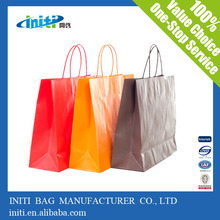 Super Quality Recyclable Custom Paper Gift Bag for Promotion