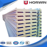 CE and ISO certification PIR foam sandwich panel supplier