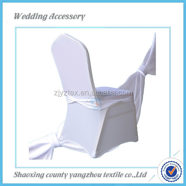 wholesale 2014 new fashionable spandex chair cover chair sash for wedding banquet party