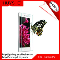 HUYSHE 9h 0.3mm mobile screen protector film roll for for Huawei P7 screen protector