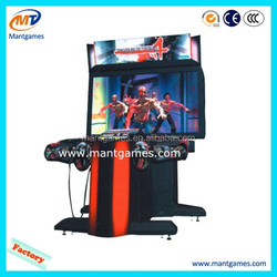 shooting arcade game machine type The house of the dead 4