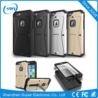 china alibaba new heavy duty armor mobile phone back cover case for iphone 6 plus / 6s plus