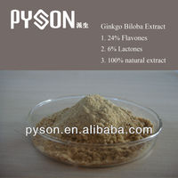 natural High quality Biloba P.E.