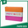 LOW PRICE COATED PAPER BOX FOR DONUT DELIVERY PACKING BOX COLORS PRINTING FOOD GRADE DONUT BOX FOR FOOD STORE FOR SALE
