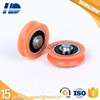 plastic injection small roller wheel nylon pulley wheels