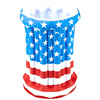 Inflatable Ice Bucket July 4th Independence Day Stars Stripes American US Flag Patriotic Inflatable Drink Cooler