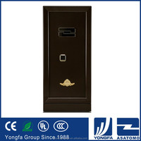 Impressive heat resistant flooring jewelry powder painting digital locker home fingerprint cash safety box