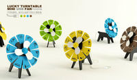 USB Fan For Summer, Lion Head Fan, Dog Lucky Wheel