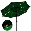 Garden Patio Umbrella With LED