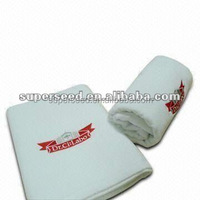 High Quality Velour Hem Embroidered Bath Towel